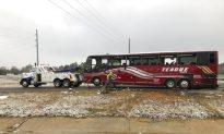 2 Dead, 44 Hurt in Mississippi Bus Crash