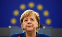 German Chancellor Merkel Joins France's Macron in Calling for European Army