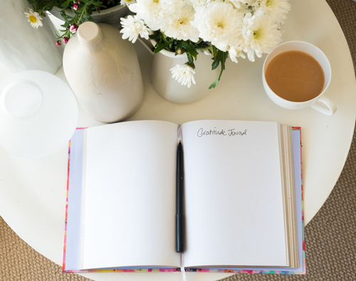 A gratitude journal can help you and your family count your blessings. (Shutterstock)