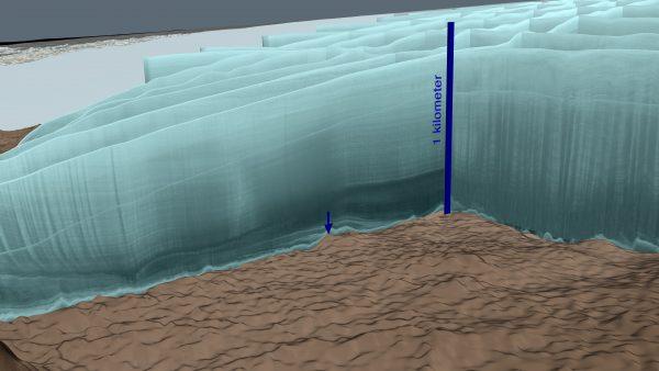 hiawatha crater radar curtain