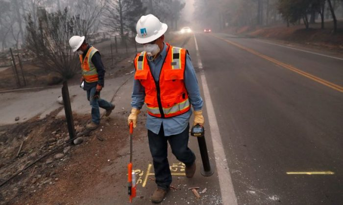 No. 1 US Utility PG&E Prepares Bankruptcy Filing After California Wildfires