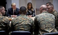 Videos of the Day: President Trump and First Lady Visit Marine Barracks