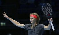 Zverev to Face Federer in Semifinals of ATP Finals