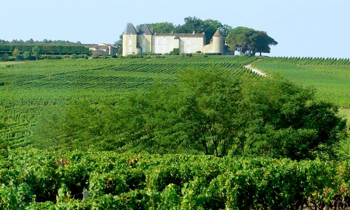 Chateau d'Yquem, near Cadillac, one of the many chateaux we passed. (John M. Smith)
