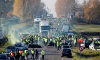 French Protesters Railing Against Macron Block Roads: One Killed