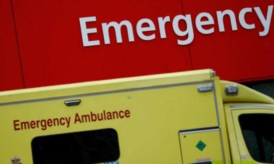 A stock photo of an ambulance (Stefan Wermuth/Reuters)