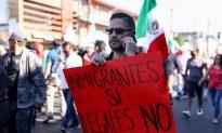 Mexicans Protest Migrant Caravan 'Invasion'