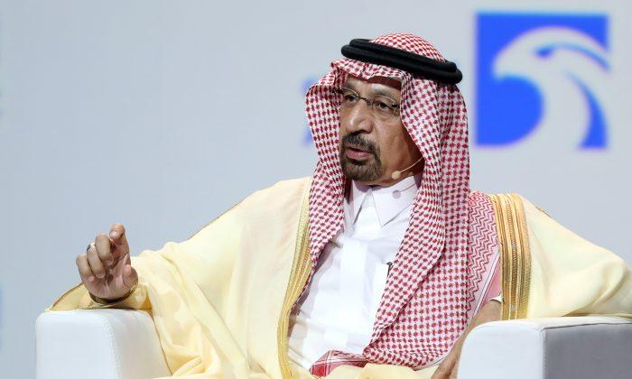 Saudi Energy Minister Khalid al-Falih in Abu Dhabi on Nov. 12, 2018. (Karim Sahib/AFP/Getty Images)