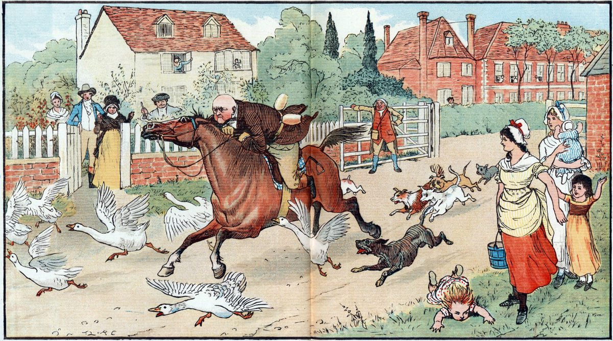 The Diverting History of John Gilpin, illustrated by Randolph_Caldecott