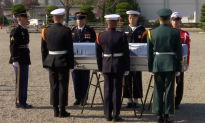 US Soldier Killed in Korean War Given Repatriation Ceremony