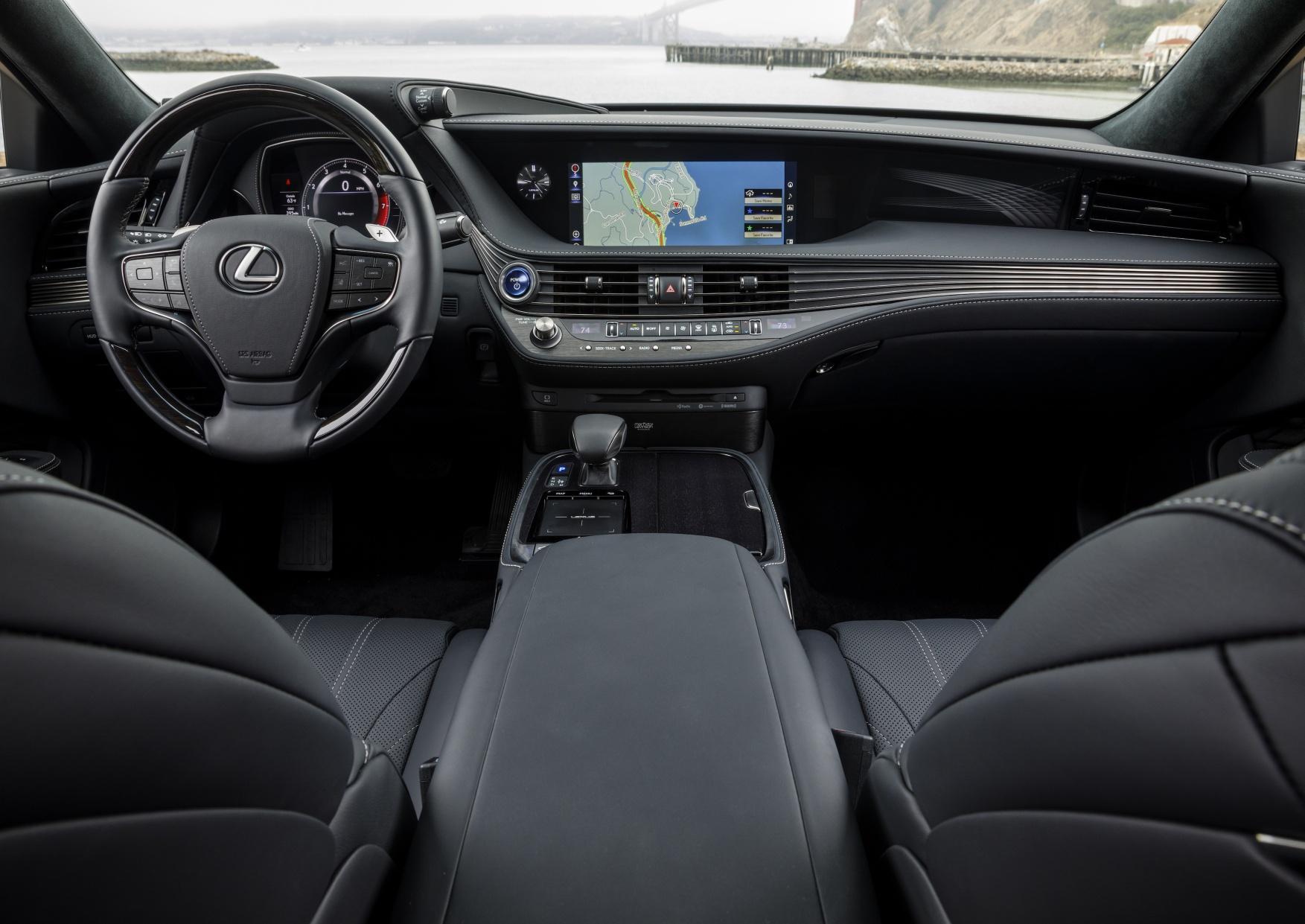 The Interior Of 2018 Ls 500h Courtesy Lexus Newsroom