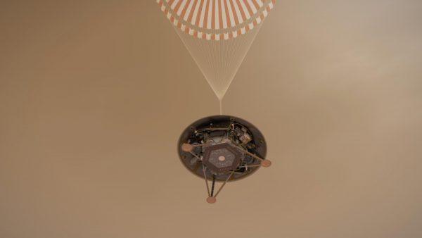 NASA InSight lands on Mars