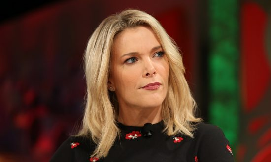Megyn Kelly speaks onstage at the Fortune Most Powerful Women Summit 2018 at Ritz Carlton Hotel in Laguna Niguel, California, on Oct. 2, 2018. (Phillip Faraone/Getty Images for Fortune)