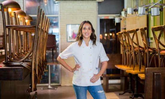 Leah Cohen inside her restaurant Pig and Khao. (Georgina Richardson)