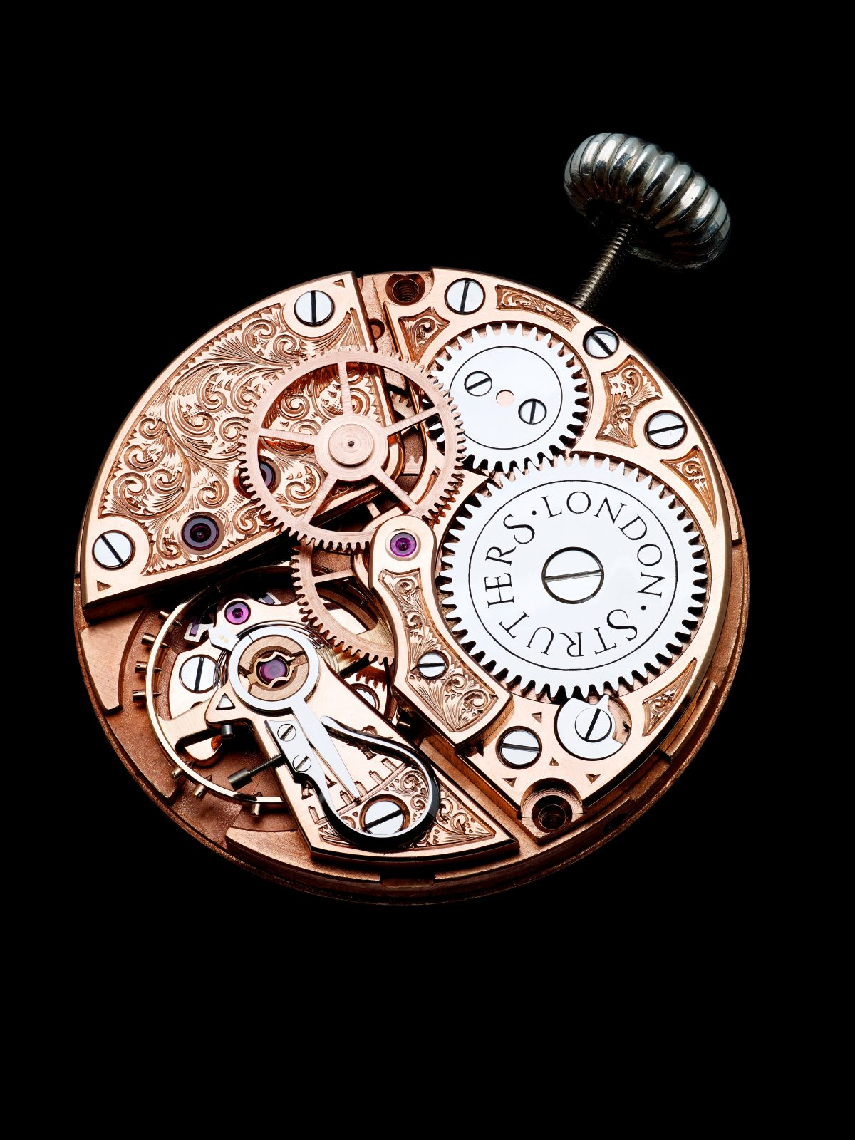 Struthers Watchmakers England Traditional