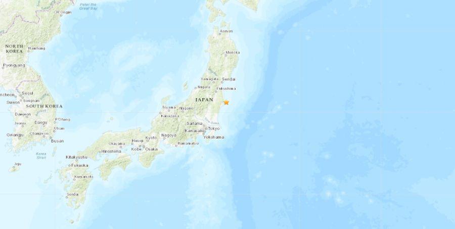 earthquake hits japan today