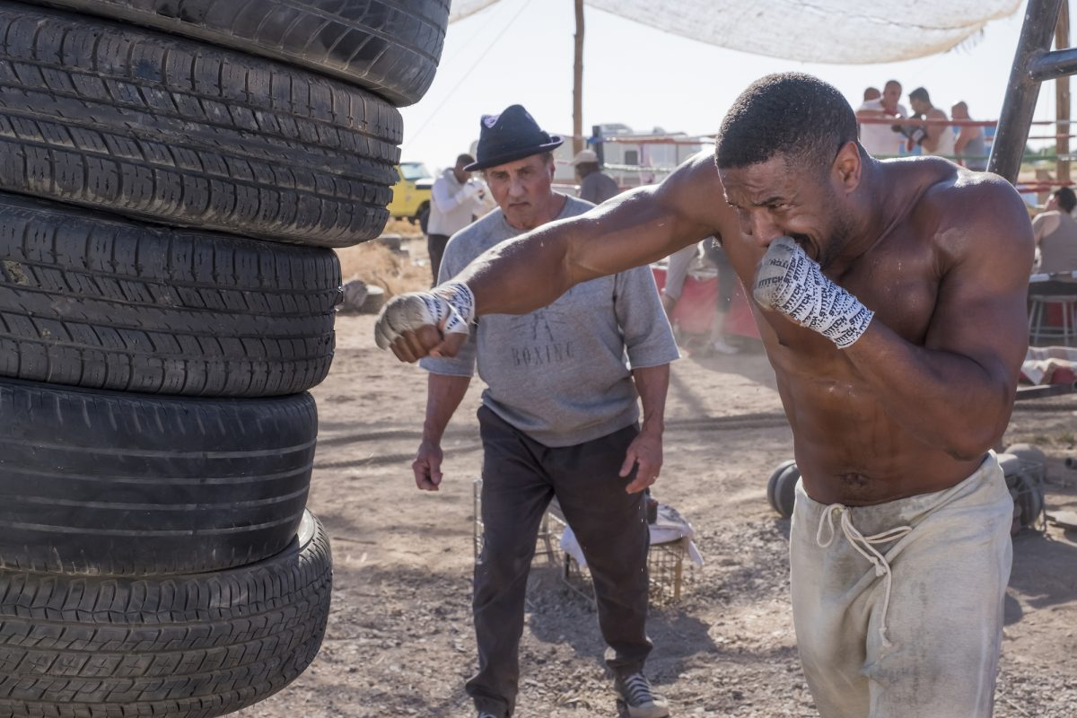 Creed 2 hitting tires in the desert