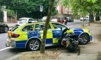 Video: British Police Ram Moped Riders to Crack Crime Wave