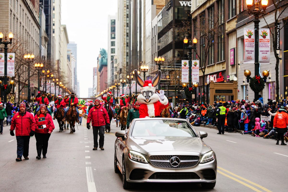 Bugs Bunny served as the Grand Marshal