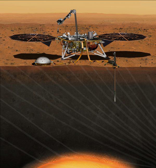 The NASA Martian lander InSight