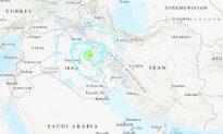 Strong Earthquake Strikes Near Sarpol-e Zahab, Iran; Dozens of Injuries Reprted