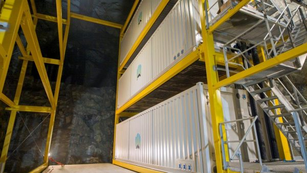 4-Northern Bitcoins mining containers in the mine -1