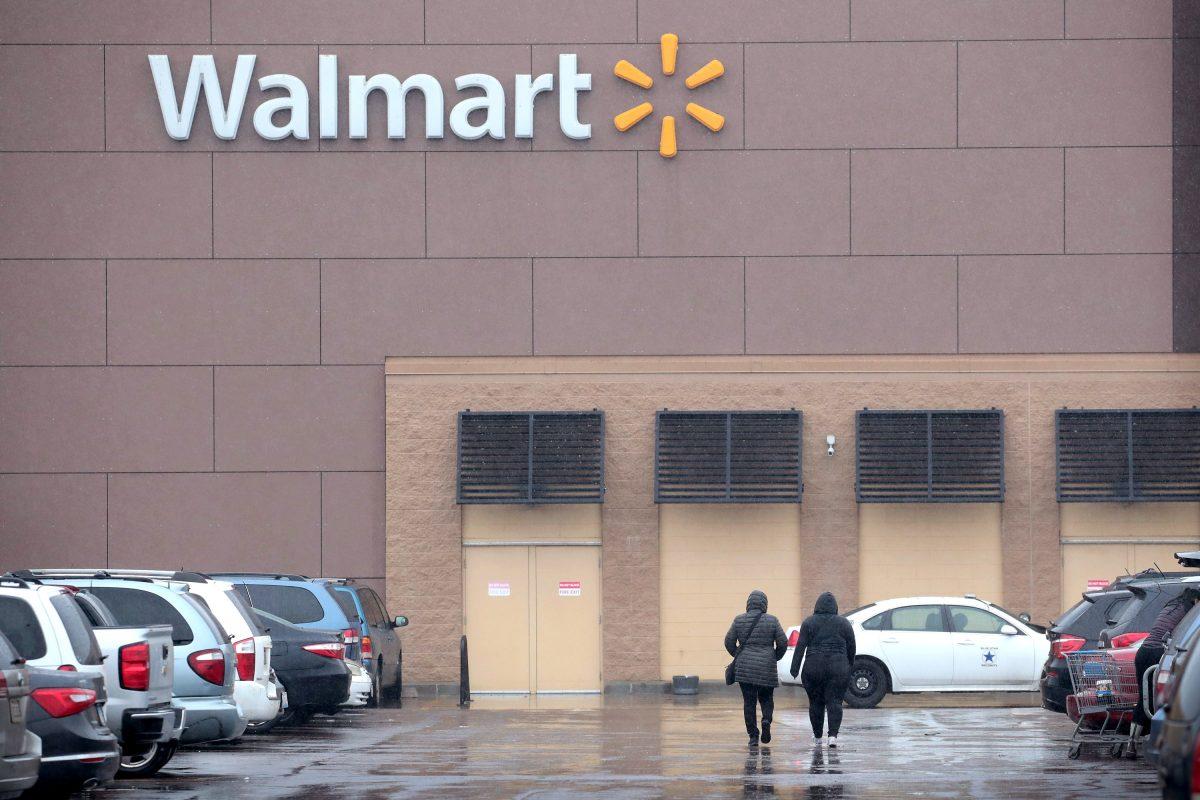 Walmart shoplifting call