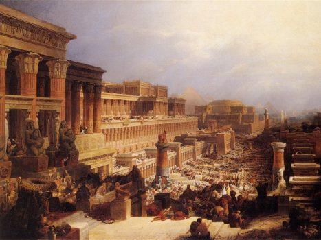 IsraelitesLeavingEgypt_1828 by David_Roberts