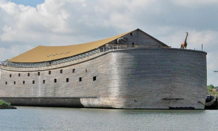 A Dutch carpenter who built a replica of Noah's Ark said he's going to sail it to Israel (Creative Commons Attribution-Share Alike 3.0 Unported license)