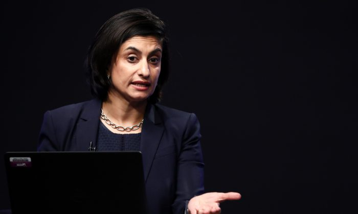 Centers for Medicare and Medicaid Services Administrator Seema Verma in Washington on Oct. 1, 2018. (Samira Bouaou/The Epoch Times)