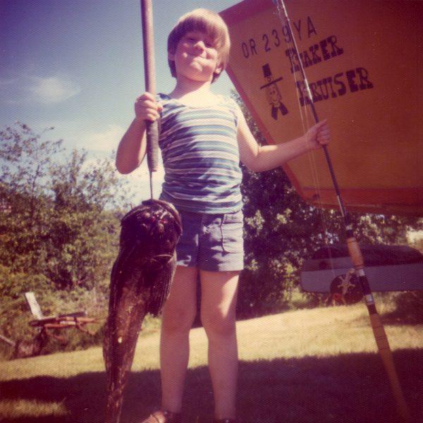 Lamm as a kid