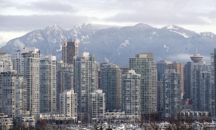 The Vancouver skyline is seen in this file photo. (Don Emmert/AFP/Getty Images)