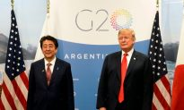 Trump Holds Bilateral Meeting With Japan's Prime Minister at G20