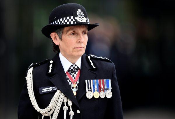 Metropolitan Police Commissioner Cressida Dick