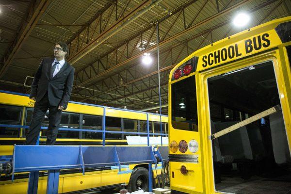 canada school bus