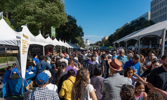 The Farm-to-Fork Festival attracted 80,000 people this year. (Dropbox)