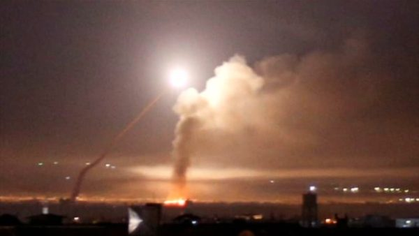 Iranian forces launched missiles
