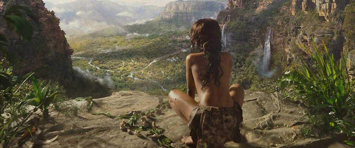 Mowgli observes the landscape