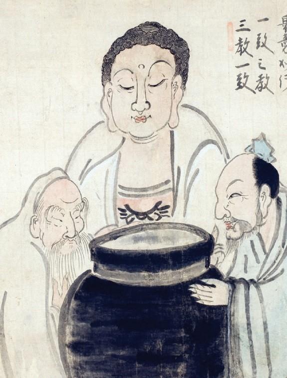 Three Tasters by Hakuin Ekaku