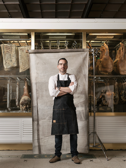 Steve McHugh, chef and owner, Cured.