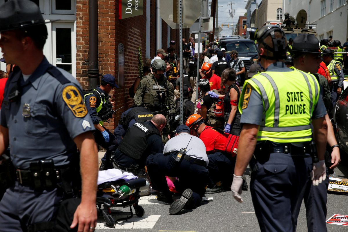 Neo-Nazi convicted of murder over Charlottesville rampage, faces life term