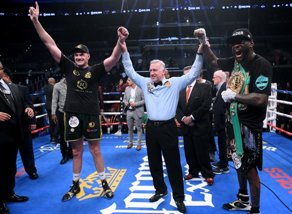 Deontay Wilder: Team Joshua must have 'thrown up' watching Fury fight