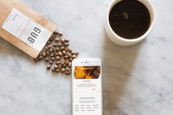 Driftaway coffee beans and review app