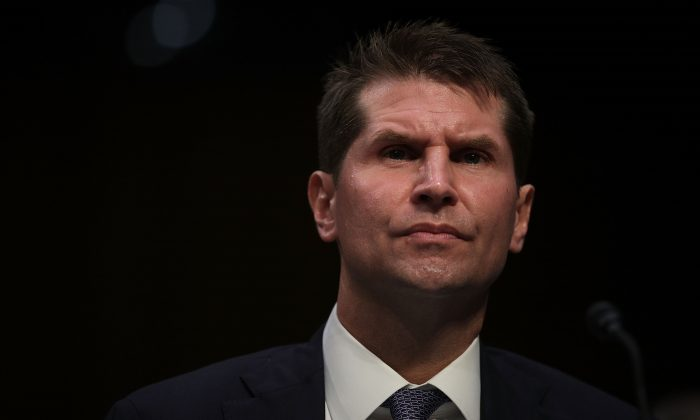 Assistant Director of the FBI Counterintelligence Division Bill Priestap testifies during a hearing before the Senate Intelligence Committee on Capitol Hill on June 21, 2017. (Alex Wong/Getty Images)