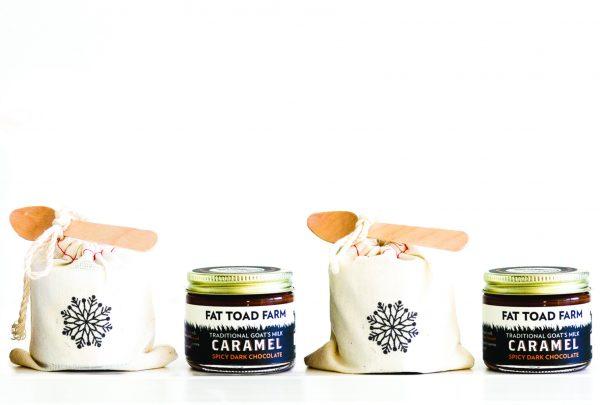 Fat Toad Farm Petit Caramel Winter Gift Bag Quartet