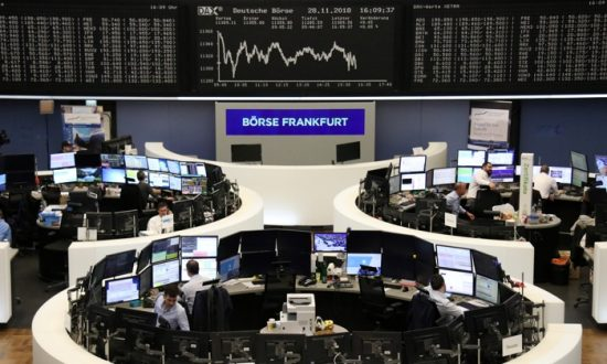 Global Stocks Fall After New York Listed Stocks Suffer