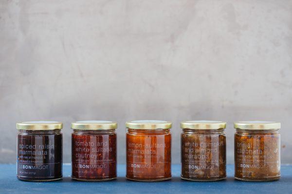 Le Bon Magot chutneys and condiments