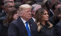 ABC News Criticized for Joking About President Trump's Funeral During Bush Service