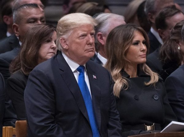 President-Donald-J.-Trump-and-First-Lady-Melania-Trump-attend-the-state-funeral-service-of-former-President-George-W.-Bush-e1544038205806-1200x894