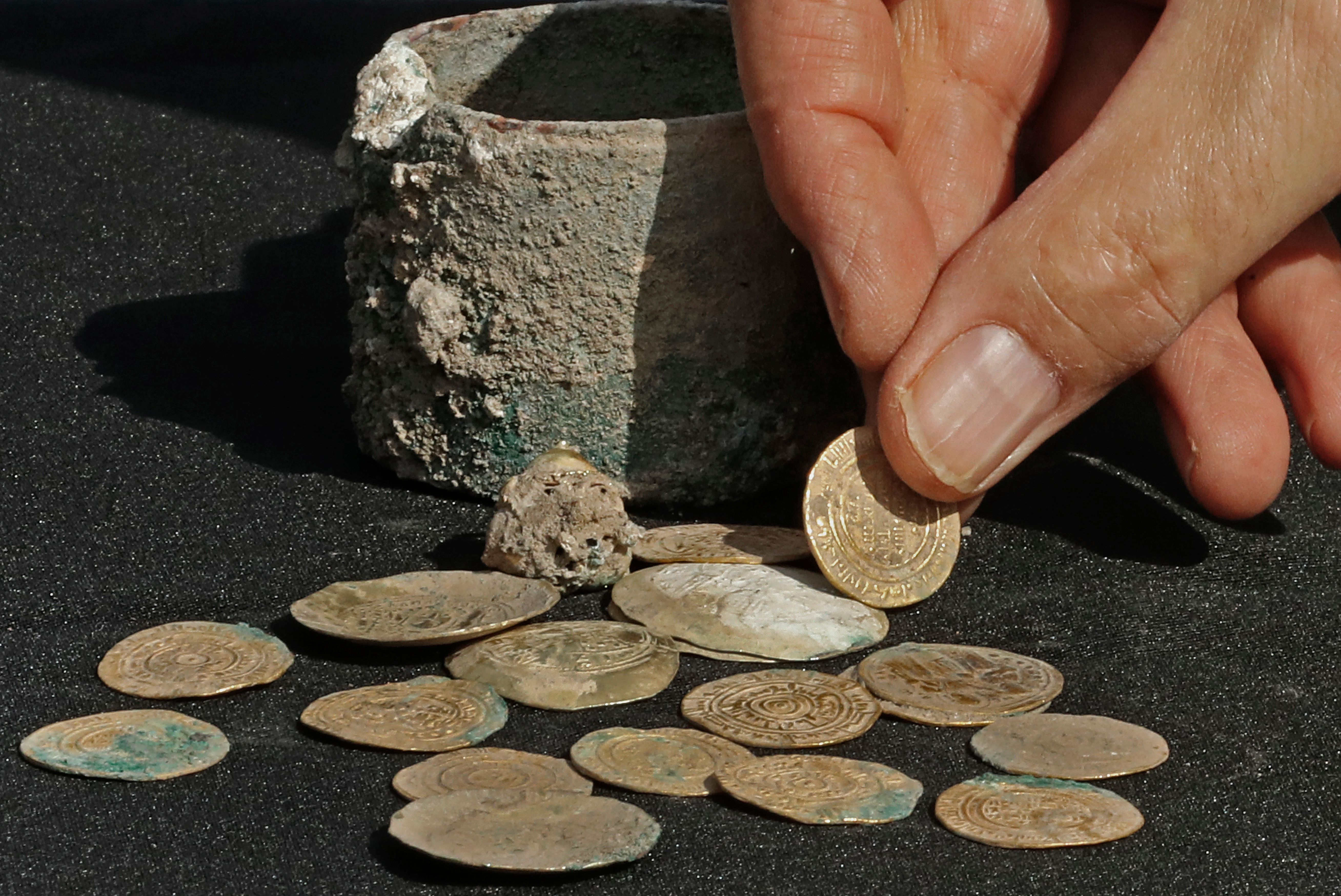 crusades coin found in middle east